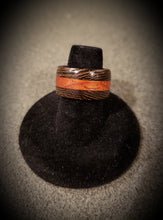 Load image into Gallery viewer, Exotic African Wenge and Padauk Wooden Ring