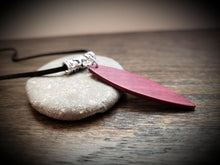 Load image into Gallery viewer, Stand Up Paddleboard Necklace, Exotic Purpleheart, SUP Board Necklace Pendant! Surfboard