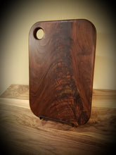 Load image into Gallery viewer, Gorgeous Figured Walnut Cutting Board, Cheese Board or serving platter