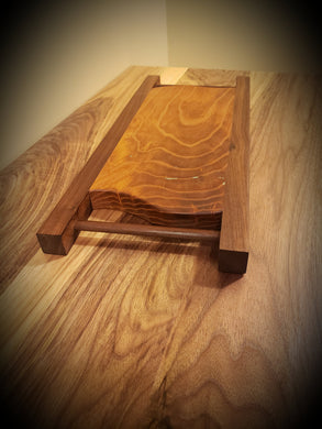 Walnut and Ash Serving Board Platter