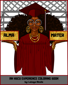 HBCU Coloring Book Black owned coloring app