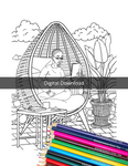Self Care Coloring Book for Black Women