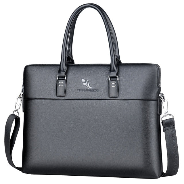 AyeBeau V.6 Portable Men's Black Business Messenger Bag