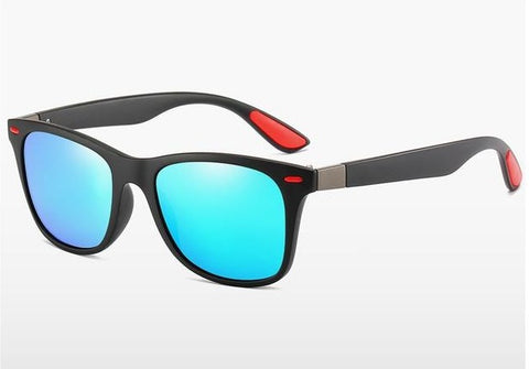 DJXFZLO P21  Men's Blue Polarized Sunglasses With UV400 Protection