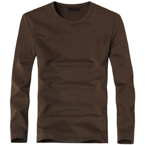 MRMT Men's O Coffee Classic Long Sleeve T-Shirt V-Neck