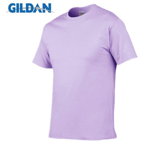 Open image in slideshow, GILDAN T8 Men's Orchid Purple Lightweight 100% Cotton T-Shirt