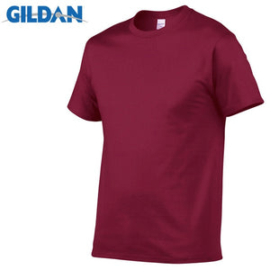 Open image in slideshow, GILDAN T8 Men's Crimson Lightweight 100% Cotton T-Shirt
