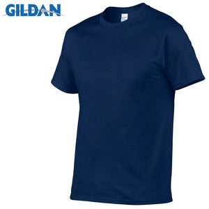 GILDAN T8 Men's Navy Blue Lightweight 100% Cotton T-Shirt