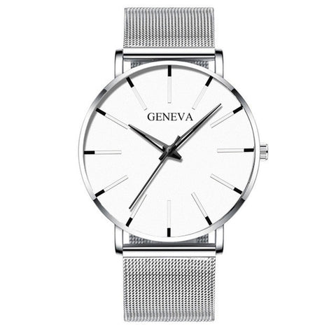 Sudysng Men's Elegant Ultra Thin Watch