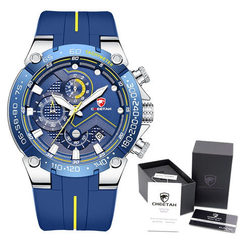 CHEETAH Men's S BE Box Luxury Chronograph Watch