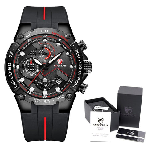 CHEETAH Men's B R B Box Luxury Chronograph Watch