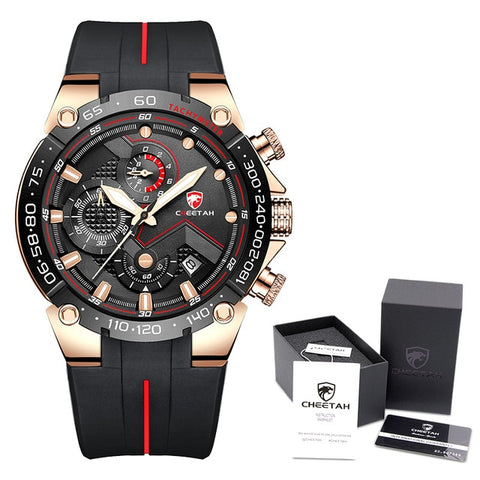 CHEETAH Men's RG B Box Luxury Chronograph Watch