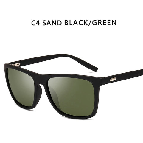DJXFZLO Men's Sand Black Green Fashion Sunglasses