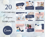 20 Customizable Instagram Canva Templates