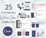 Webinar/ Powerpoint Slides Canva Templates