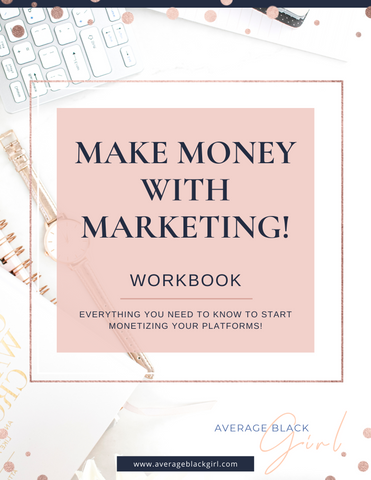 Make Money With Marketing Workbook