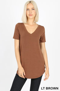 Relaxed Fit Tee (Lt. Brown)