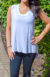 Fit To Be Fab Top (Lavender)