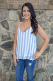 Fall For Me Striped Tank