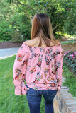 The Game Of Love Floral Top (Rose)