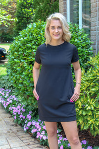 Shift And Shout Dress (Black)