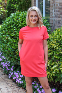 Shift And Shout Dress (Watermelon)