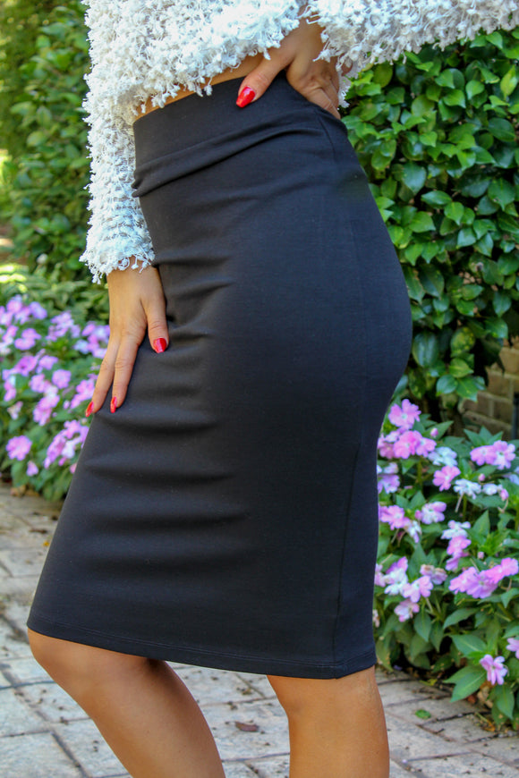 Sleek And Sassy Skirt