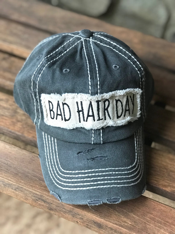 Bad Hair Day Ball Cap