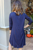 Looking For Something More Dress (Navy)