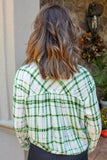 Call Me Maybe Plaid Top (Emerald)