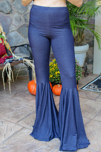 Smooth Talker Denim Flares