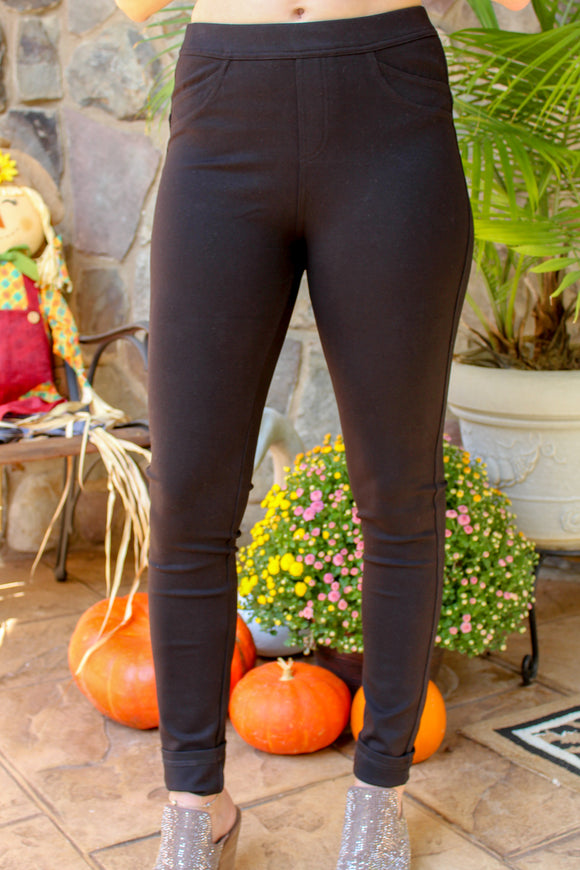 The Sabrina Jegging (Black)
