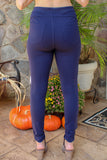 The Sabrina Jegging (Navy)