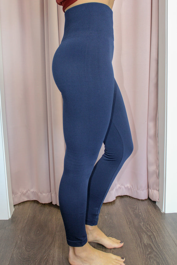 Cozy Up Leggings (Navy)