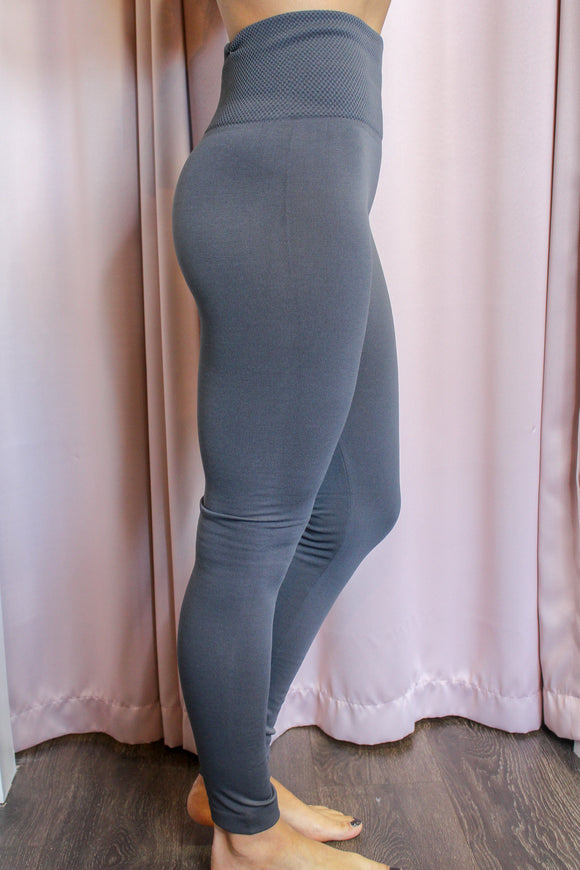 Cozy Up Leggings (Gray)
