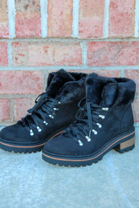 The Linda Snow Boots (Black)