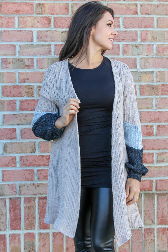 Warm Your Heart Cardigan (Latte)