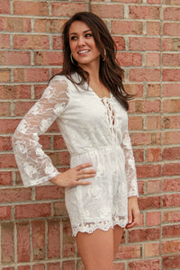 Effortless Beauty Lace Romper