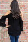Summer Nights Dream Top (Black)