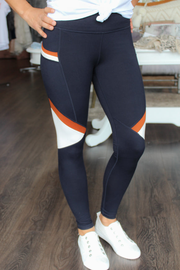 Highwaisted Colorblocked Leggings