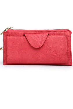 Jen & Co Wallet (Hot Pink)