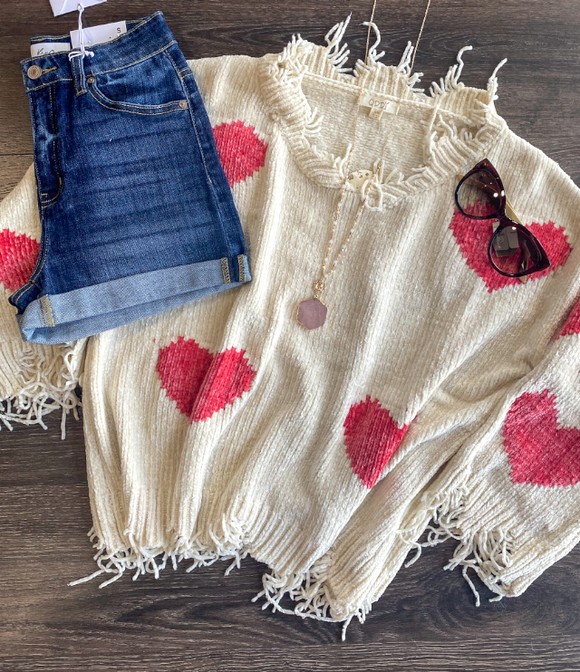 You Have My Heart Sweater