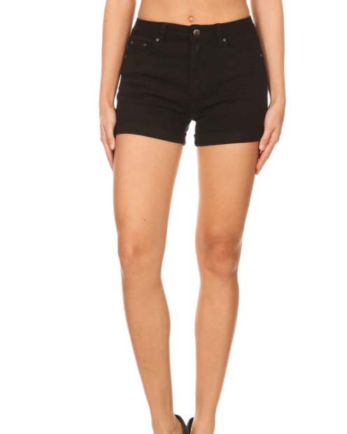 The Jasmine Shorts(Black)