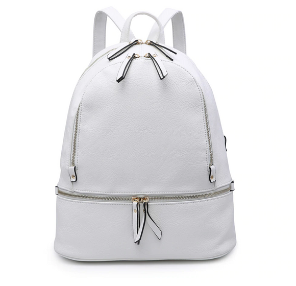 Jen & Co Backpack (White)