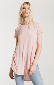 Z Supply Seri Washed Tunic (Pale Blush)