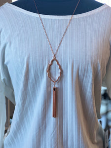 The Kenzie Necklace (Rose Gold)