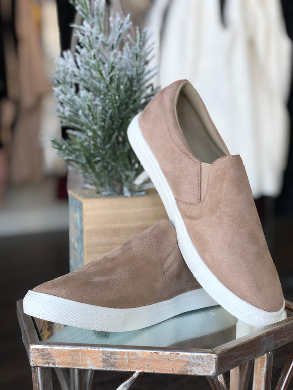 The Samm Sneakers (Taupe)