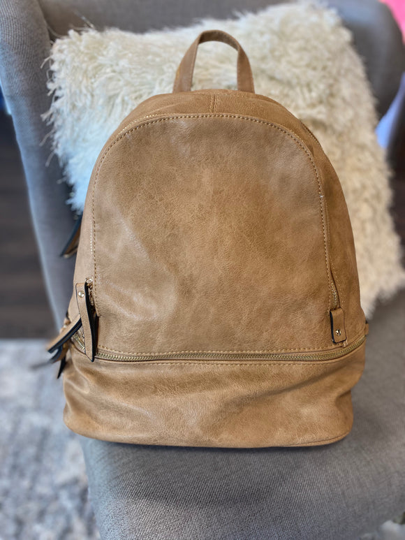 Jen & Co Backpack (Mocha)