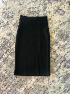 You Can't Sit With Us Pencil Skirt (Black)