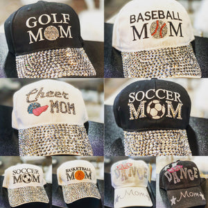 Sports Mom Baseball Cap